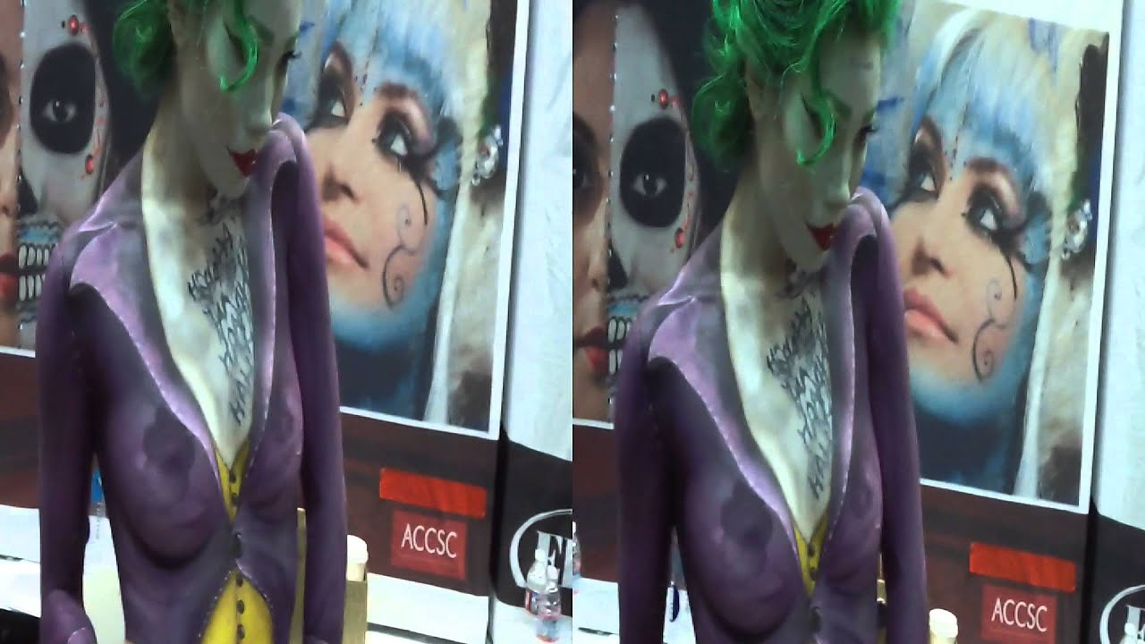 how to make body paint for cosplay