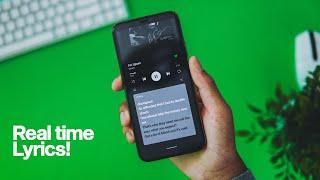 Spotify Finally Adds Real Time Lyrics! screenshot 1