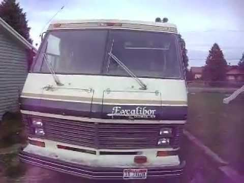 1982 excalibur georgy boy chevrolet gmc 454 turbo 400 motorhome 28 1982 excalibur georgy boy chevrolet gmc 454 turbo 400 motorhome 28 foot walkaround inside and out