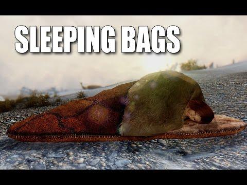 Sleeping Bags: REAL BLANKETS - Skyrim Mods Watch