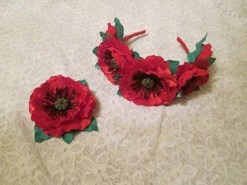 Изготовление цветов из ткани, цветы из лент, как сделать