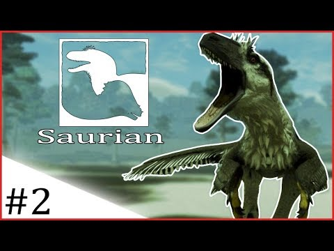 Saurian | DAKOTA CAN KILL EVERYTHING! | #2 [Early Access-Pre-Alpha]