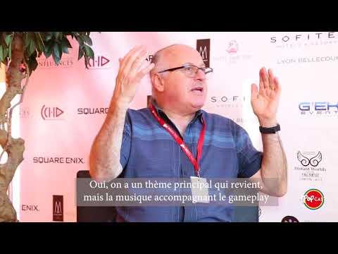 Interview Arnie Roth - Distant Worlds à Lyon 2017 - FF30th