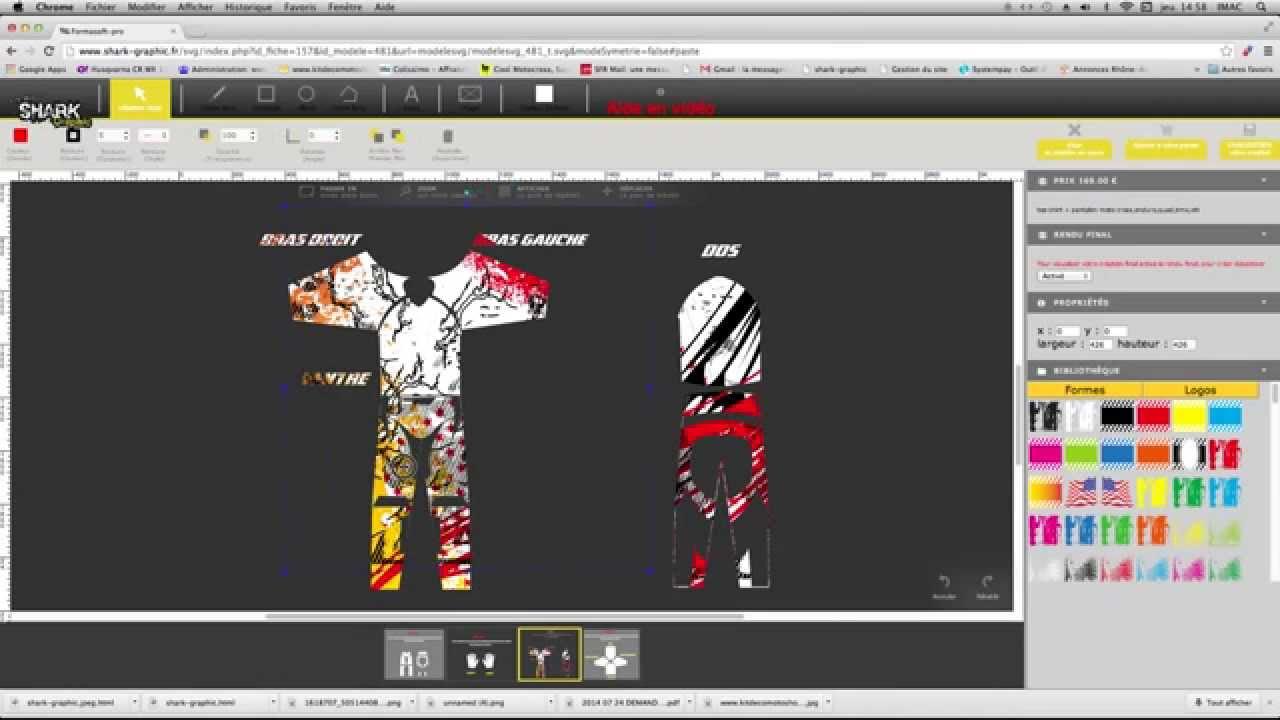 Creer votre tenue moto en ligne ainsi que vos kit deco sur for Deco en ligne
