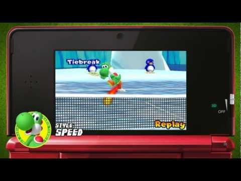 Nintendo 3DS - Mario Tennis Open - Preview Trailer