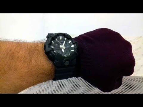 41cdec9756f Relógio G-SHOCK GA-700-1BDR - New Look Time Relógios - YouTube