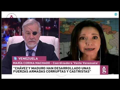 Entrevista a María Corina Machado, coordinadora de la plataforma 'Vente Venezuela'
