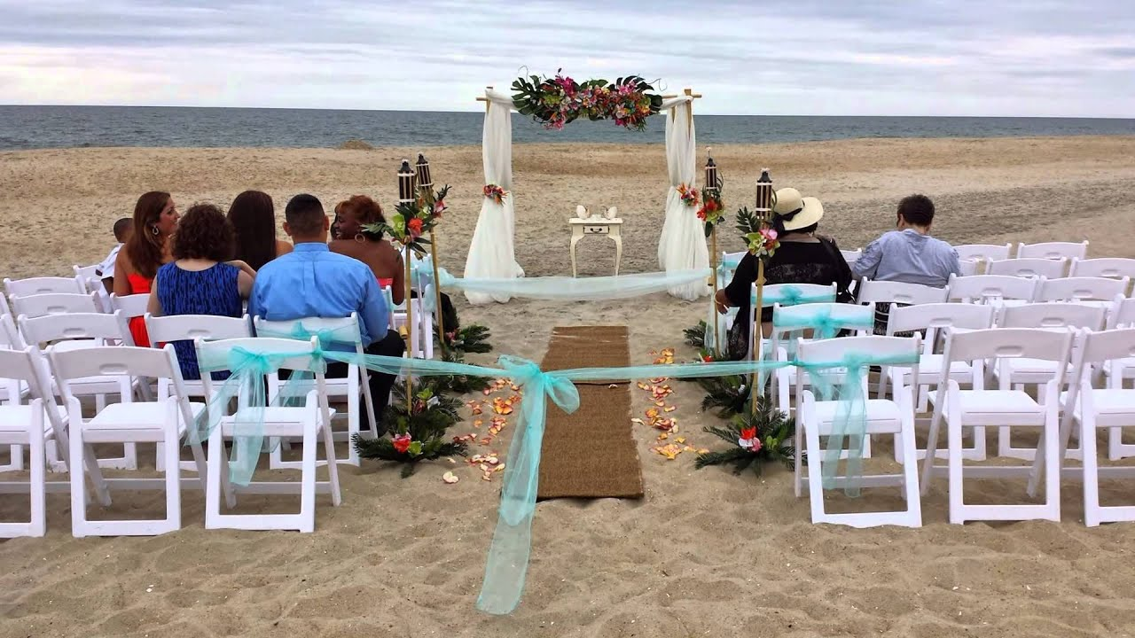 Barefoot Bride At Princess Royal Ocean City Md Wedding