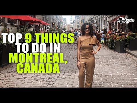 Always Trippin' Episode 5 -  Top 9 Things To Do In Montreal, Canada | Curly Tales