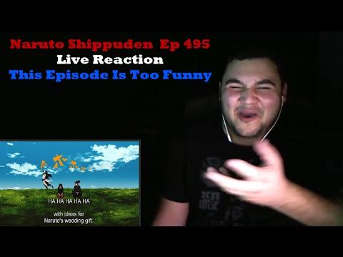 Naruto Shippuden  Episode 495 Live Reaction