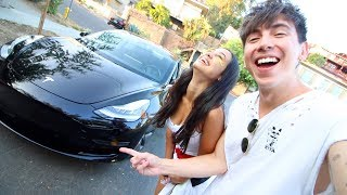 BOUGHT THE TESLA MODEL 3!! (SCARY)