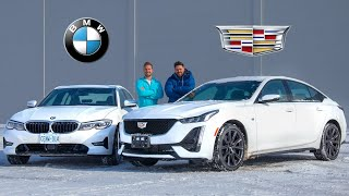 2020 Cadillac CT5 Sport vs BMW 3 Series // $50,000 Face Off