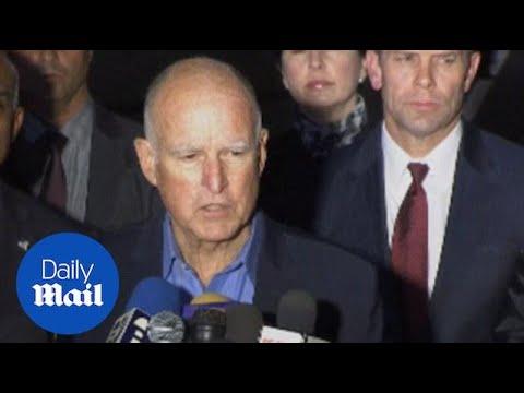 Governor of California updates on San Bernardino shooting - Daily Mail