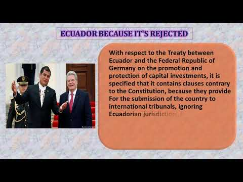 Bilateral Investment Treaty between ECUADOR and GERMANY