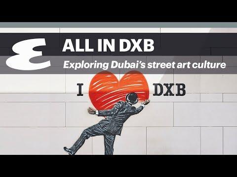 Video: Exploring Dubai's budding street art culture