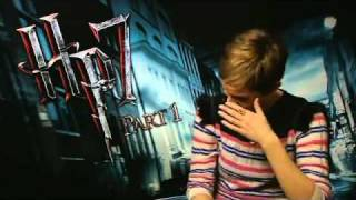 Emma Watson Laughing Hard in an Interview on SVT - Deathly Hallows Part 1