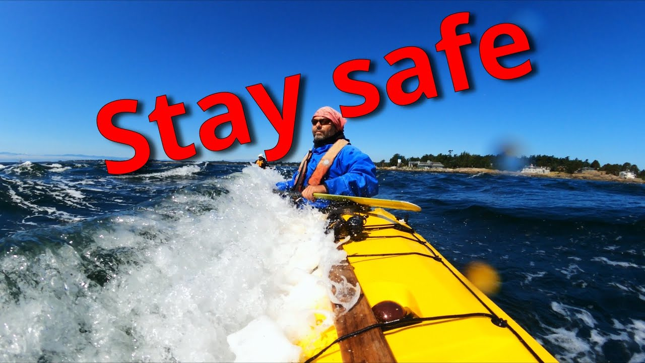 Sea kayaking in choppy waves safely | sea kayak brace
