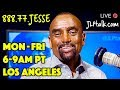 Wed, Apr 24: Jesse LIVE 6-9am PT (Los Angeles) Call-in: 888-77-JESSE