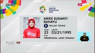 Inilah Profil Aries Susanti Atlet Panjat Tebing dengan Segudang Prestasi iNews Siang 24 08
