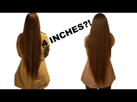 How to make your hair grow longer faster in a month