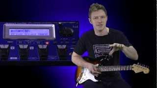 Roland GR55 Guitar Synthesizer Demo by Joshua Munday