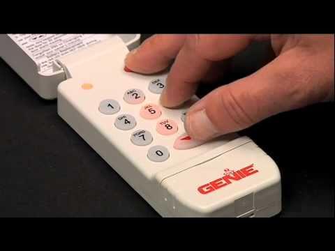 Program Wireless Keypad With Intellig And Trilog Youtube