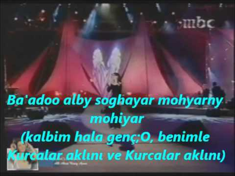 Nancy Ajram Sheel Eiounak Anny Turkish Sub.