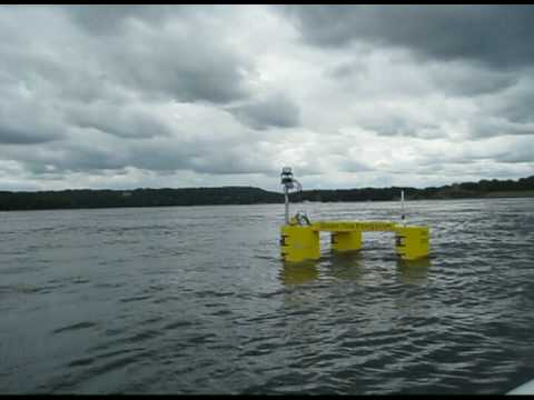 The E1 (Evopod) Tidal Energy Project: 2008 to 2009 - operation footage