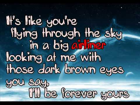 Tyler Ward and Julia Sheer - Airliner [HQ w/ Lyrics]
