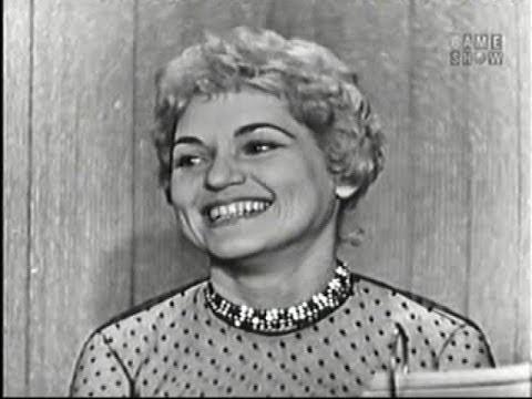 What's My Line? - Judy Holliday; Tony Randall [panel] (Feb 23, 1958)