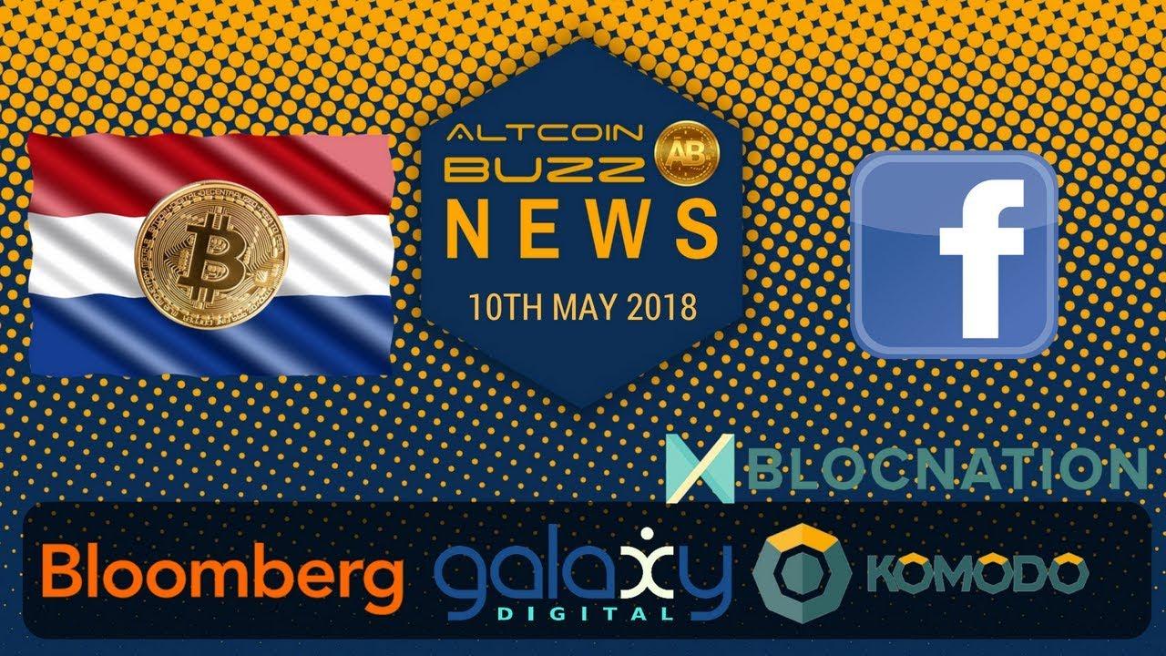 Altcoin News – Global BTC? Blocnation DICO (BNTN), Bloomberg & Galaxy, Dutch Love Bitcoin!