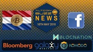 Altcoin News - Global BTC? Blocnation DICO (BNTN), Bloomberg & Galaxy, Dutch Love Bitcoin!