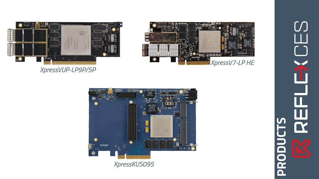 REFLEX CES' Xilinx® FPGA-based PCIe board presentation