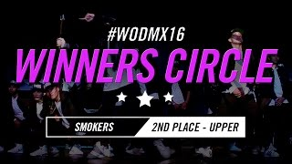 Smokers | 2nd Place – Upper Division | World of Dance Mexico City Qualifier 2016 | #WODMX16
