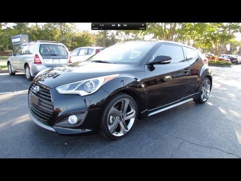 2013 Hyundai Veloster Turbo Start Up, Exhaust, and In Depth Review