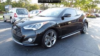 2013 Hyundai Veloster Turbo Start Up, Exhaust, and In Depth Review смотреть