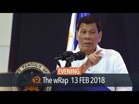 HRW: Duterte's 'shoot vagina' remark violates int'l humanitarian law