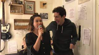Katie Lowes & Adam Shapiro Test Their Karaoke Skills