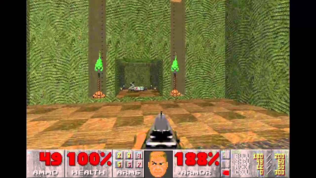 Doom 2 Hell On Earth Level 15 Industrial Zone Youtube