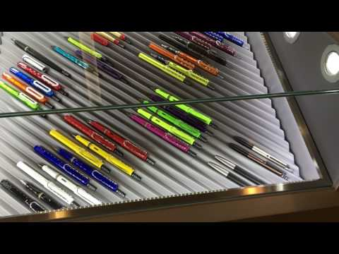 Visiting a Lamy store in Shanghai
