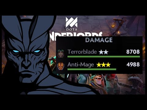 Underlords - Insane Full Demons Strat! TB DPS too high lmao