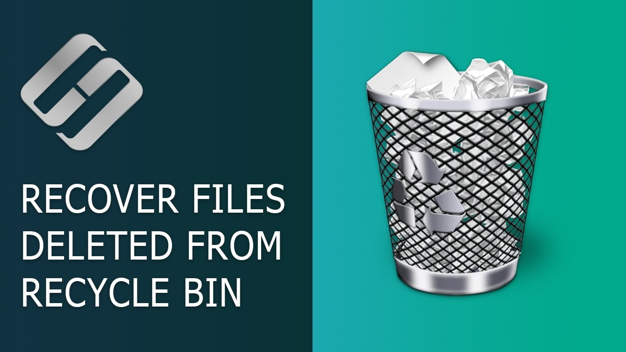 How to recover deleted photos from recycle bin in windows 10/8/7/Vista/XP