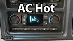 Fixing Car AC That's Blowing Hot Air