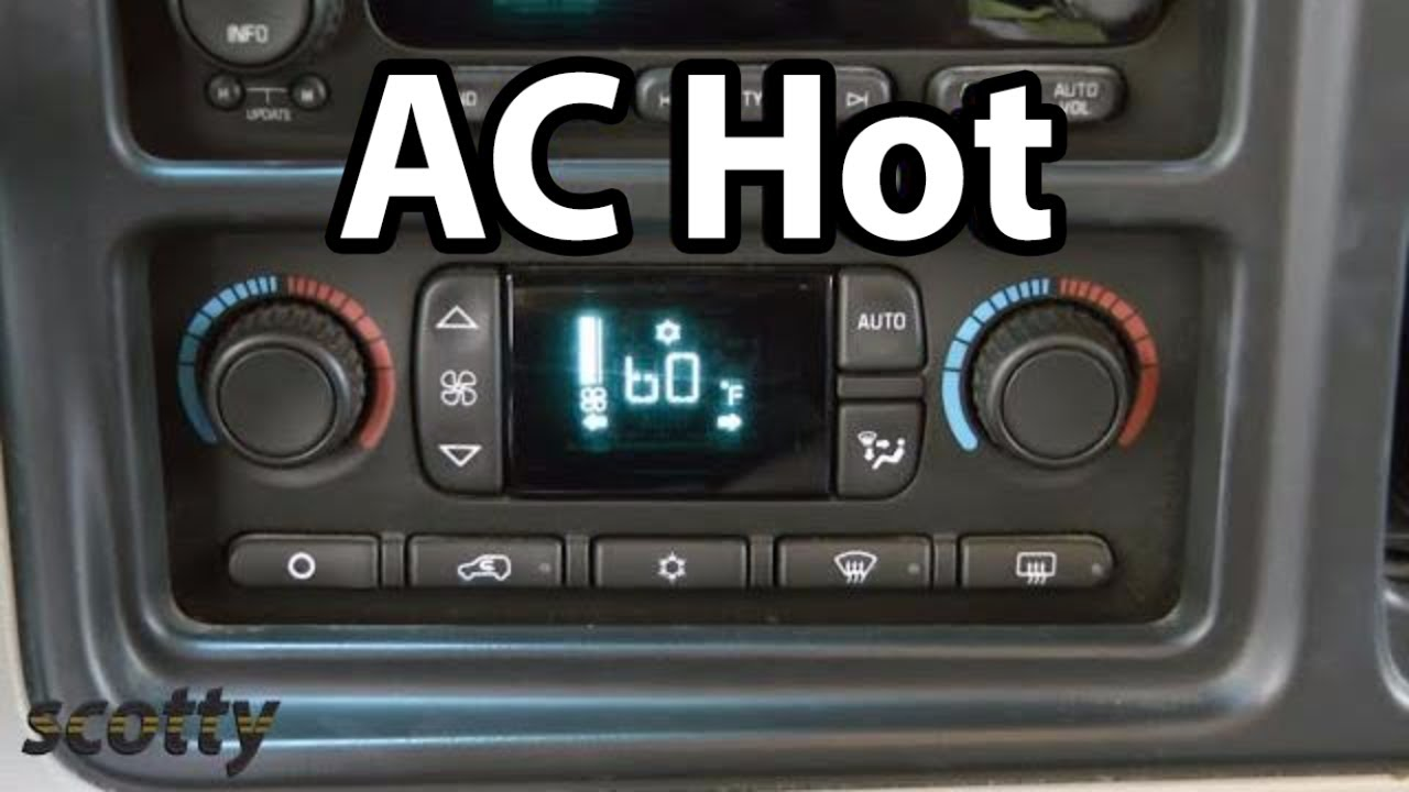 Fixing Car Ac That S Blowing Hot Air Youtube