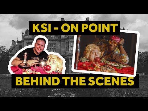 KSI - ON POINT (LOGAN PAUL DISS TRACK) Behind The Scene