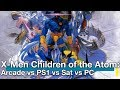 X-Men Children of the Atom: Arcade vs PS1 vs Sat vs PC Comparison