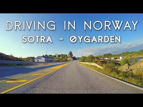 Driving in Norway: Sotra - Øygarden