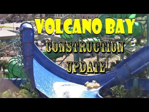 Universal Orlando Resort Volcano Bay Construction Update 3.14.17 Testing, Lockers, Hidden Gems!