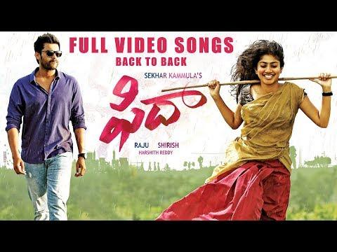 Fidaa Full Video Songs Back To Back - Varun Tej, Sai Pallavi | Dil Raju