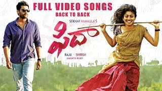 Fidaa Full Video Songs Back To Back - Varun Tej, Sai Pallavi | Dil Raju